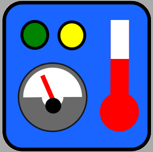 MEDM Status Display Icon